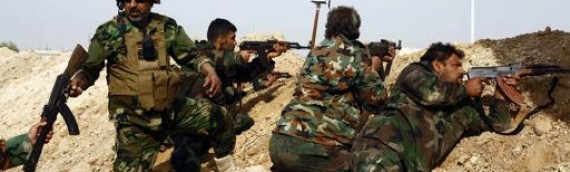Shia militias fighting in Syria