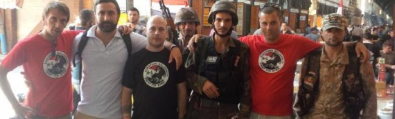 European fascists fighting in Syria alongside regime forces, Sepah Pasdaran and Hezbollah