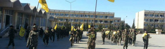 Iraqi militia given Aleppo military academy to use as its HQ