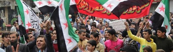 Syrian protests: 'No to Iranian Occupation of Syria'