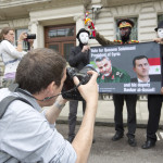 Qassem Soleimani's 'election rally' at the Iranian embassy in London, 2 June 2014