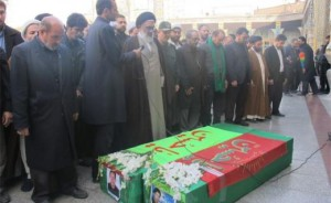 Afghan fighter funeral