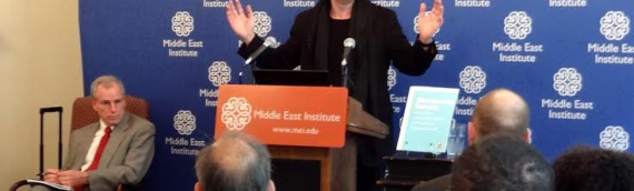 Talk by Naame Shaam's Campaign Director at Middle East Institute in Washington DC
