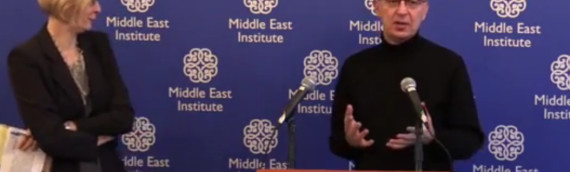 Talk by Naame Shaam's Campaigns Director at Middle East Institute in Washington DC